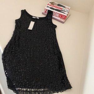 Devine Black Sequin Dress